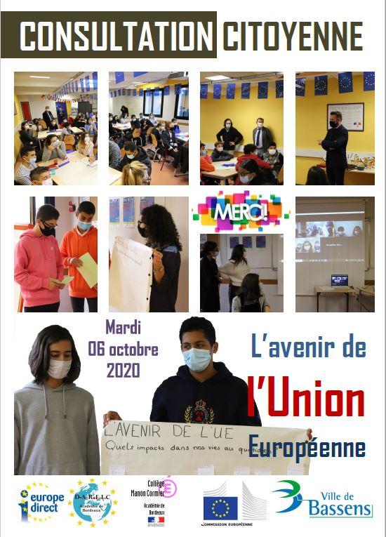 Consultation citoyenne sur l'avenir de l'Europe