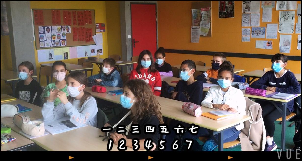 Chinois – nos élèves donnent de la voix !