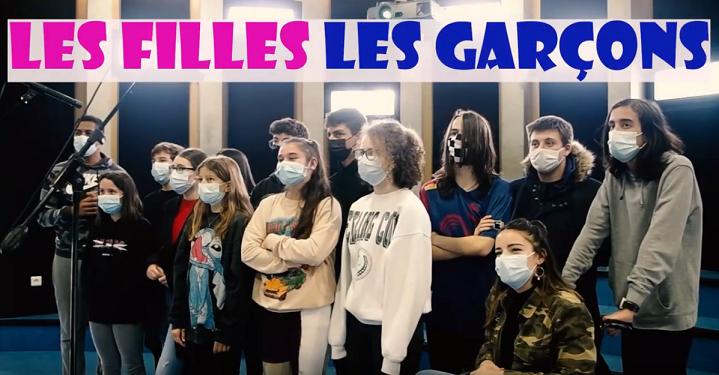 Filles vs Garçons – le clip