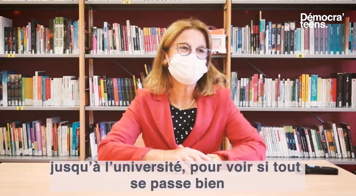 Démocra'teens – interview de la Rectrice d'Académie de Bordeaux